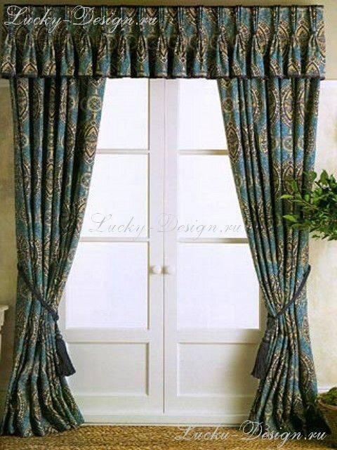 Бирюзовые шторы в интерьере: свежесть и элегантность