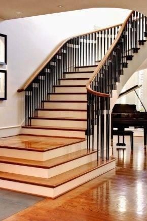 Ступени из дерева для бетонной лестницы: расчеты и порядок монтажа