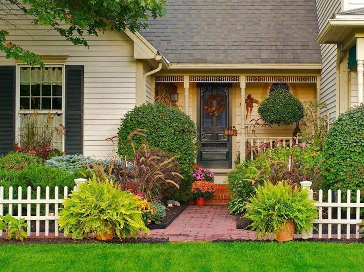 Дизайн ландшафтный небольшого участка перед домом: правила и нюансы оформления, рекомендации дизайнеров
