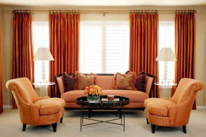 Оранжевая мебель: 100 фото современных идей дизайна интерьера