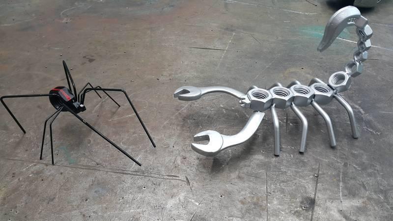 Изделия из металлолома своими руками