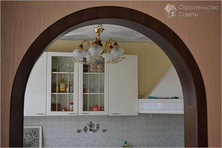 Правила и этапы отделки арок декоративным камнем. варианты дизайна