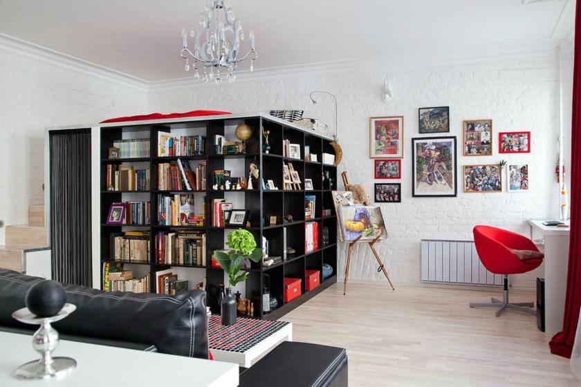 Дизайн однокомнатной квартиры 40 кв. м: фото в современном стиле, способы разграничения пространства, популярные принципы оформления