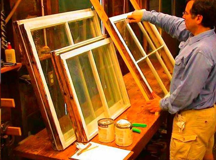 Как правильно сделать ремонт деревянного окна своими руками: Пошагово - Обзор