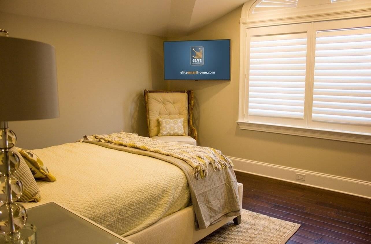 Телевизор на стене - 95 фото правил расположения и красивых идей оформления места для современного телевизора