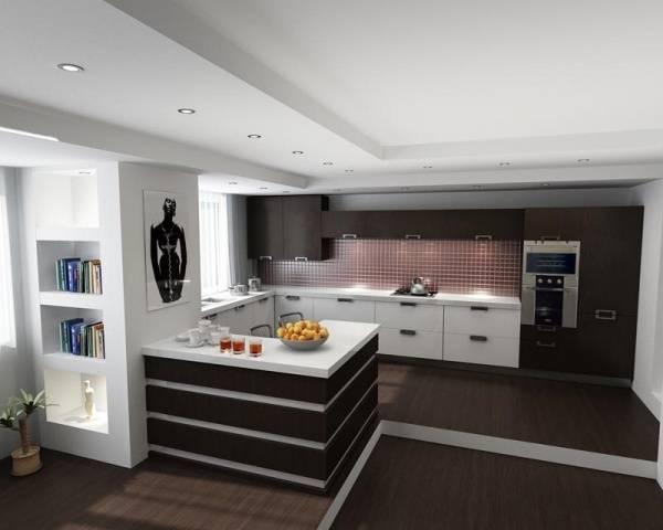 Подиум в гостиной-столовой: как изменение высоты пола преображает интерьер