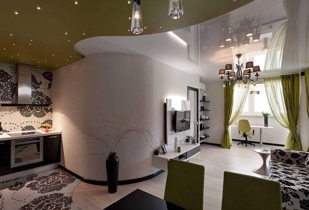 Дизайн однокомнатной квартиры 33 кв.м. - 90 фото интерьеров, идеи ремонта и отделки