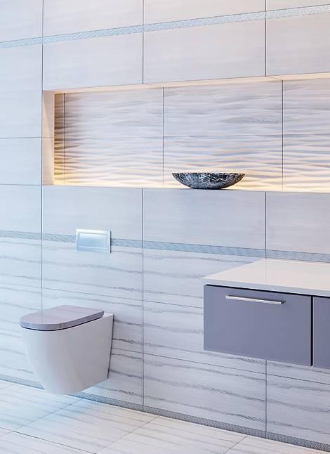 Плитка для ванной intercerama ideal