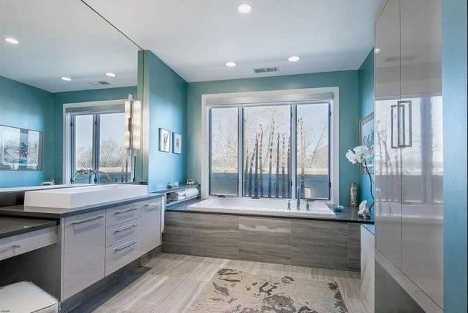Голубой цвет в интерьере жилых помещений - примеры дизайна, сочетание цветов в интерьере
