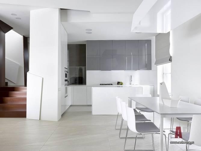 Кухня-гостиная в стиле минимализм: 50 лучших интерьеров
