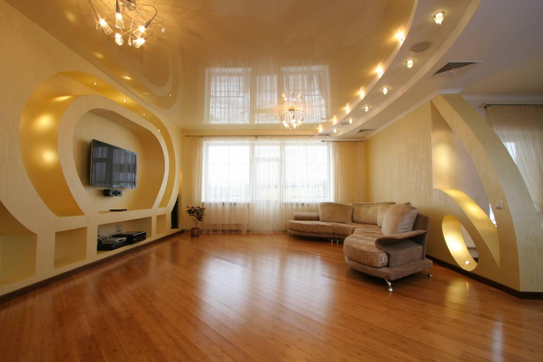 Светящийся натяжной потолок со светодиодами — технология монтажа