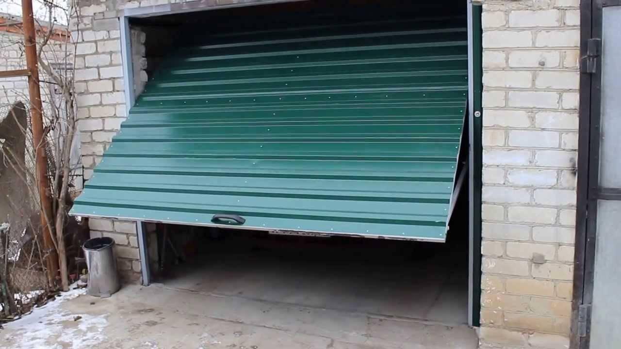 Ворота-рольставни на гараж — плюсы и минусы