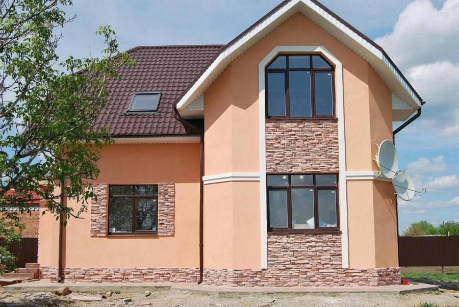 Цвет фасада — правила выбора и удачного сочетания. фото вариантов красивого дизайна фасадов частного дома