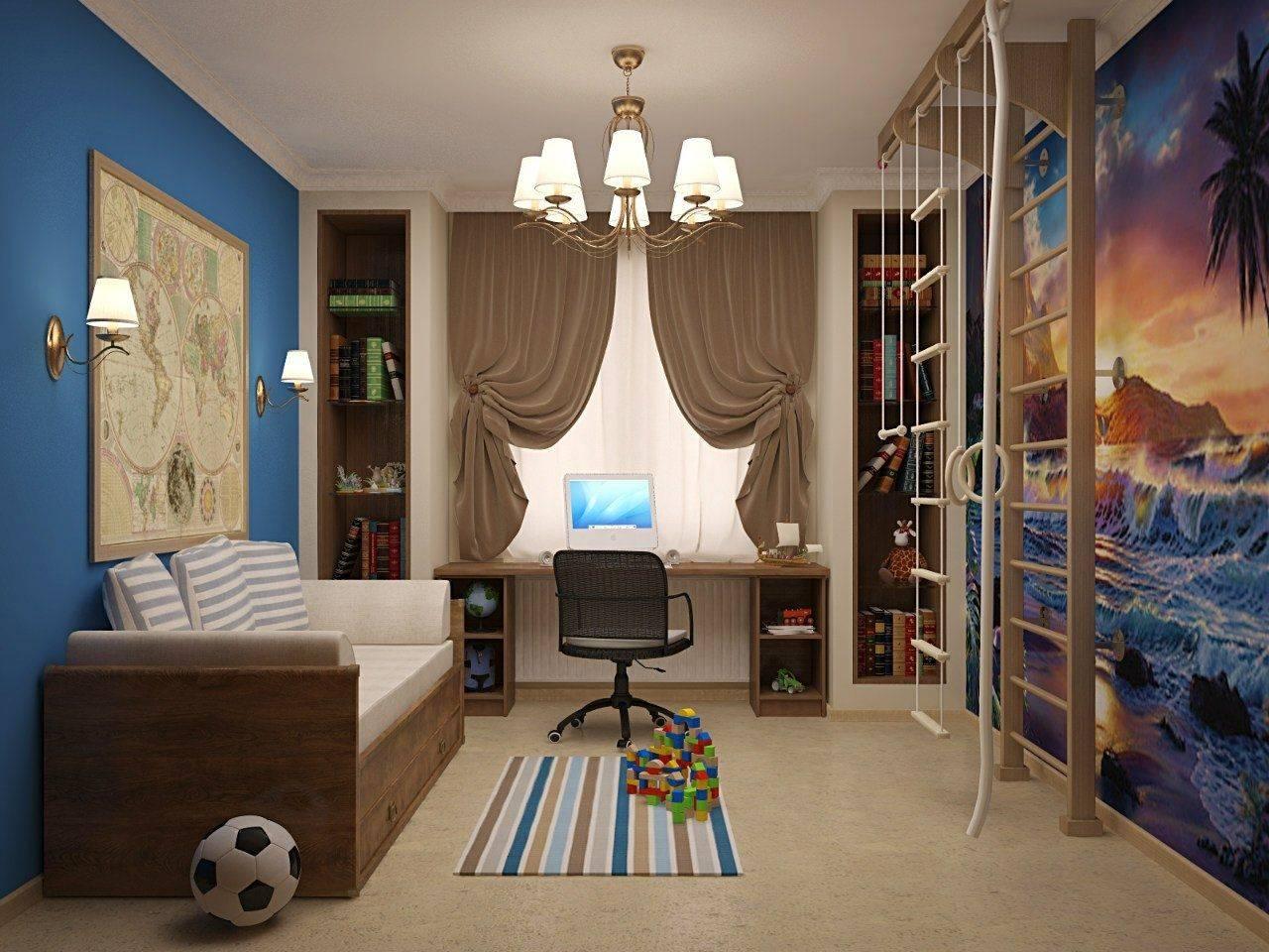 Шторы в детскую комнату (50 реальных фото) - оригинальные идеи