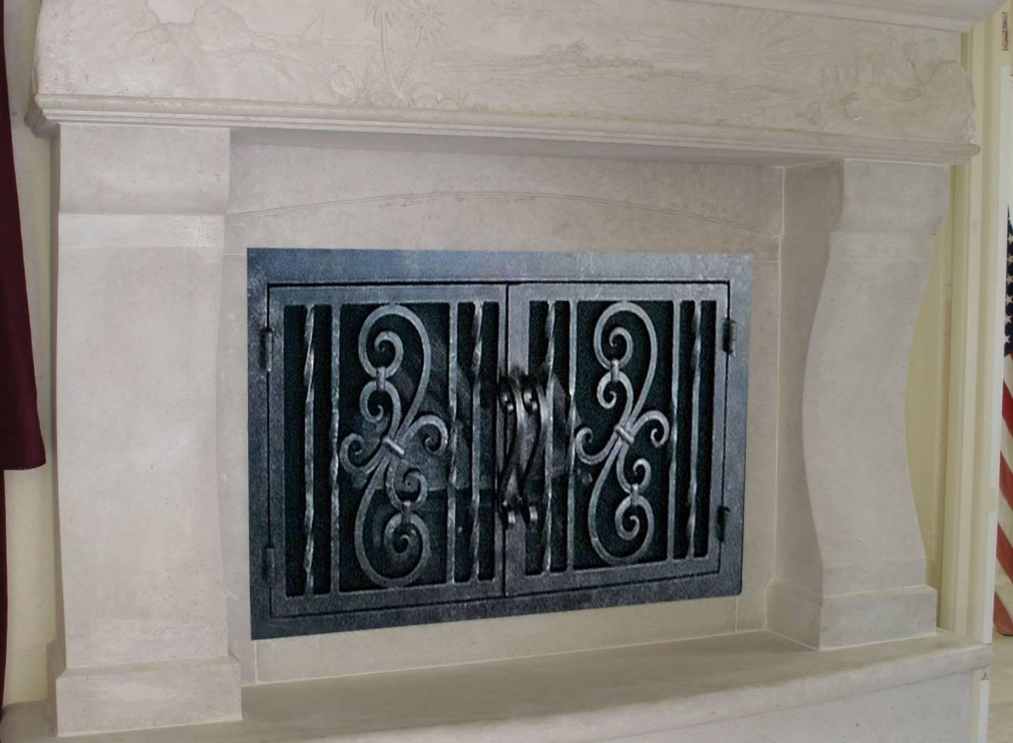 Изготовление дверцы для камина своими руками - полезные советы