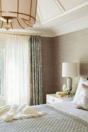Какие шторы подойдут к серым обоям: рекомендации с фото