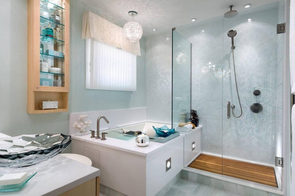 Полки для ванной комнаты - фото лучших новинок в интерьере