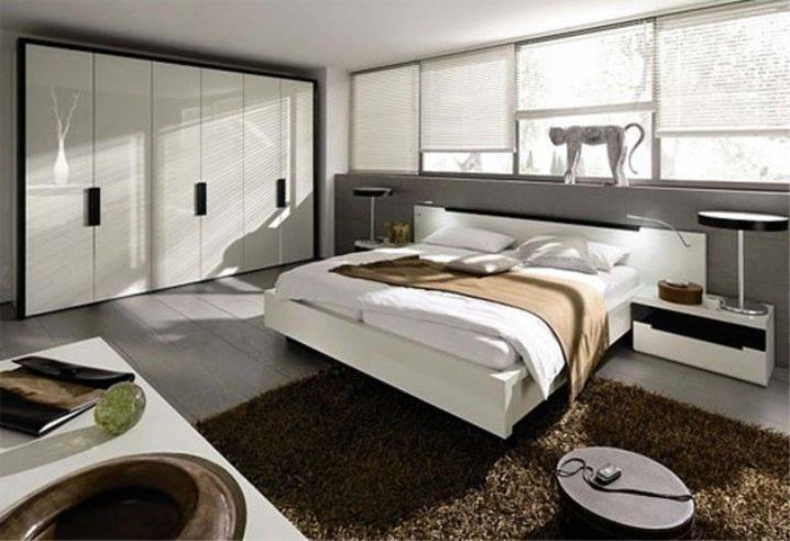 Спальня в стиле модерн: 35 фото в интерьере, идеи дизайна