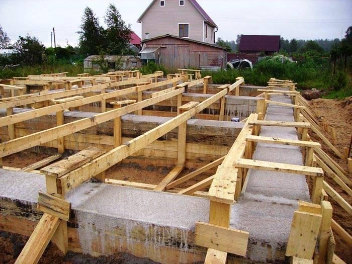 Калькулятор расчета ленточного фундамента - расчет арматуры, бетона, опалубки   стройсоветы