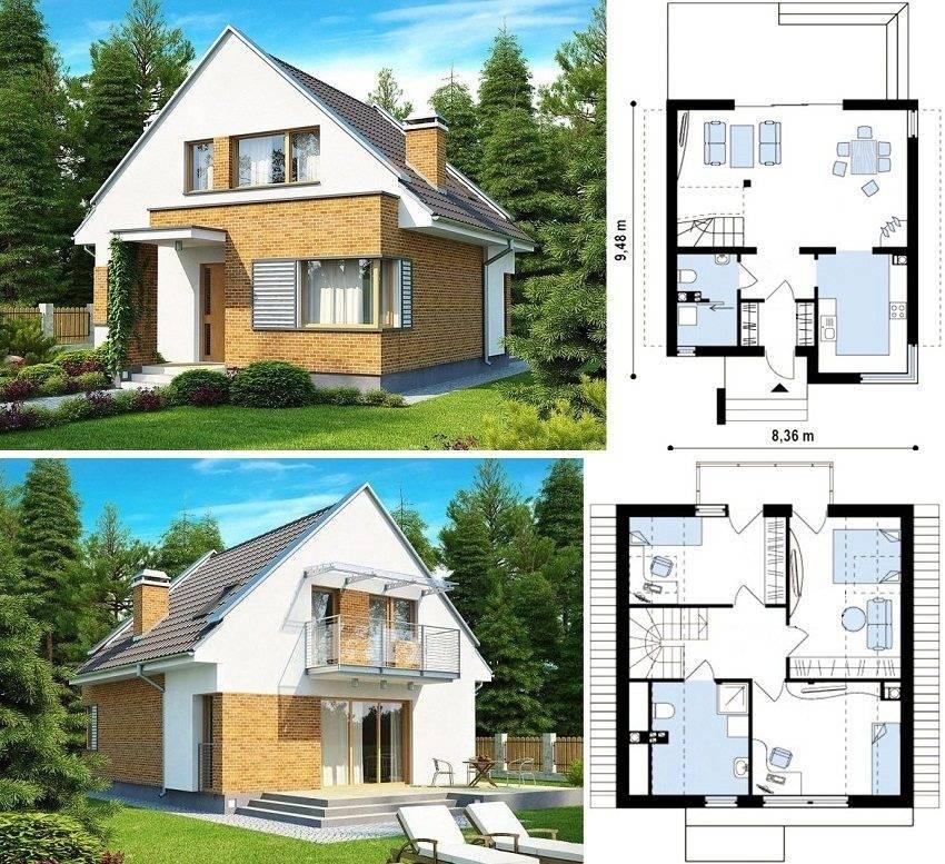 Мансарды с балконом: особенности конструкции, внесение балкона в первоначальный проект