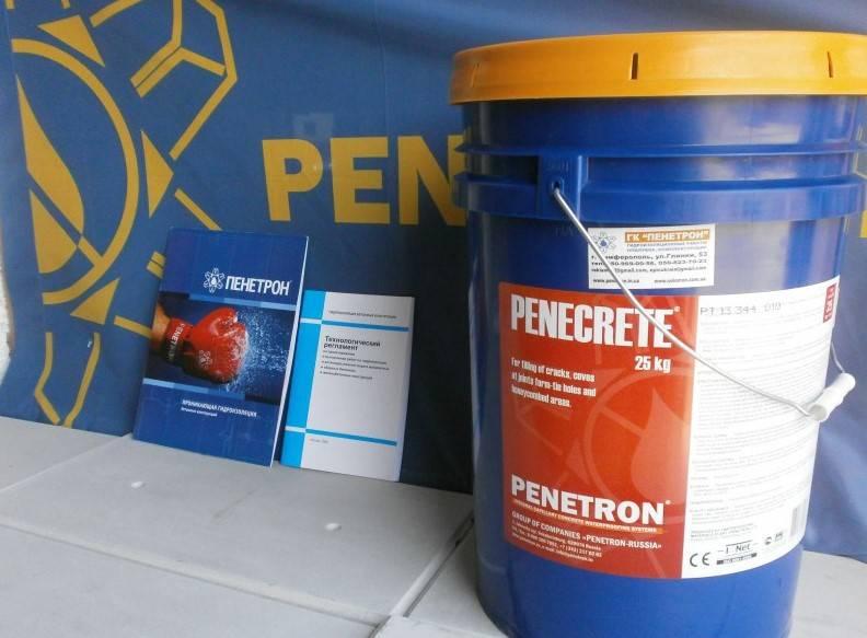 Гидроизоляция пенетрон: принцип работы и область использования