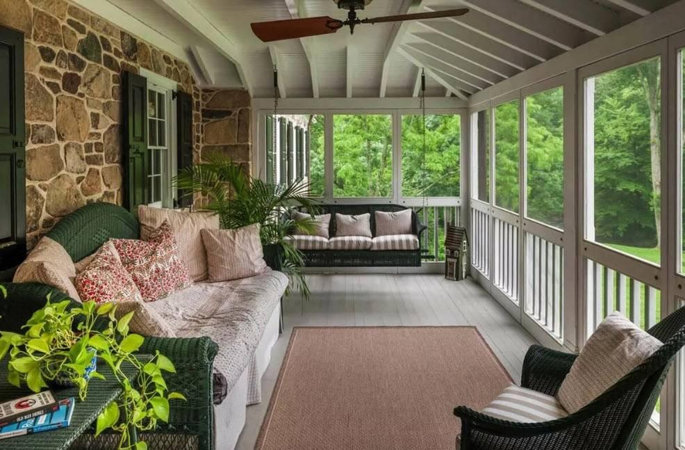 9 стилей интерьера для оформления террасы в частном доме