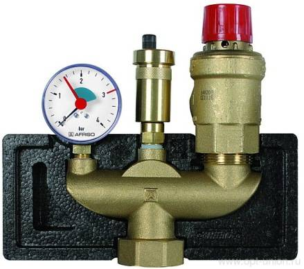 Защитный регулируемый клапан сброса давления