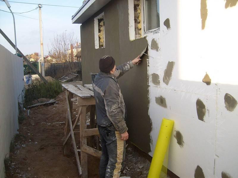 Утепление стен своими руками пенопластом: пошаговая инструкция