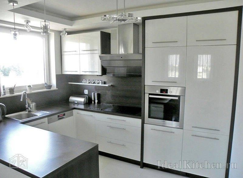 Кухни буквой П — реальные фото в интерьере и 11 советов дизайнера