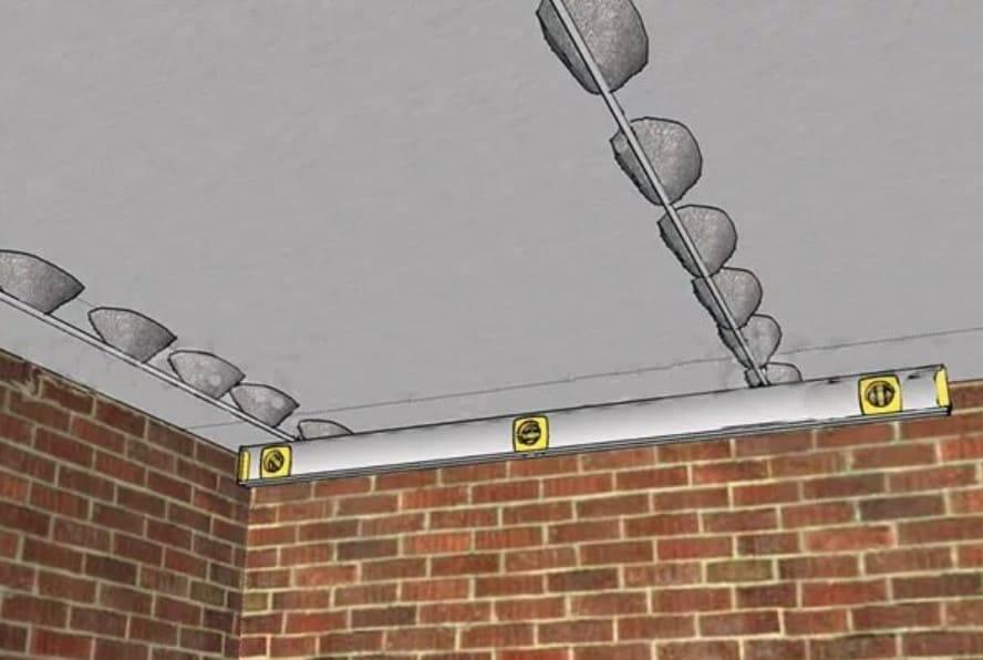 Как правильно выбрать и установить маяки для штукатурки стен