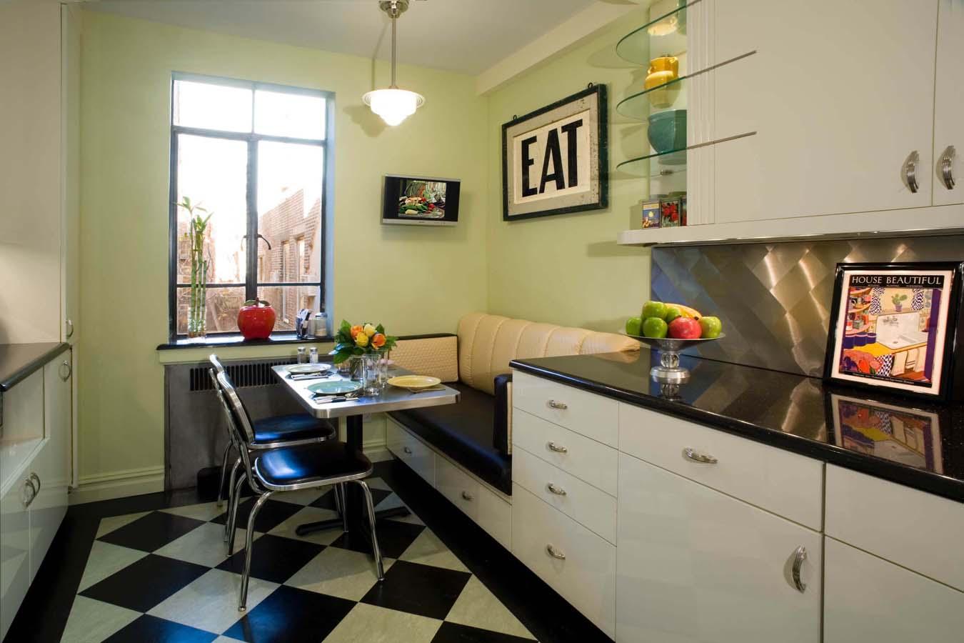 Кухонный уголок: фото, виды и особенности выбора