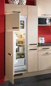 Какое расстояние должно быть между холодильником и стеной - как правильно
