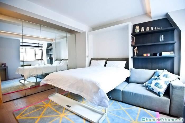 Кровать-трансформер для малогабаритной квартиры, советы по выбору