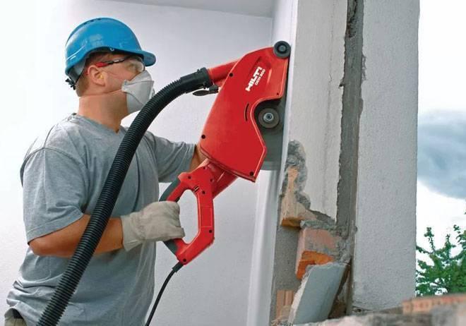 Штробление стен под проводку: как и чем штробить