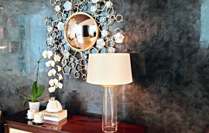 Декоративная штукатурка в интерьере: технология нанесения