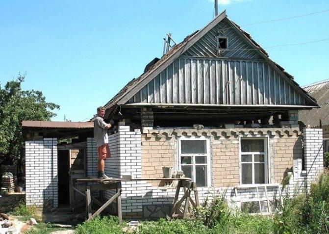 Как поднять крышу дома не разбирая ее. Как поднять крышу дома для увеличения высоты потолков