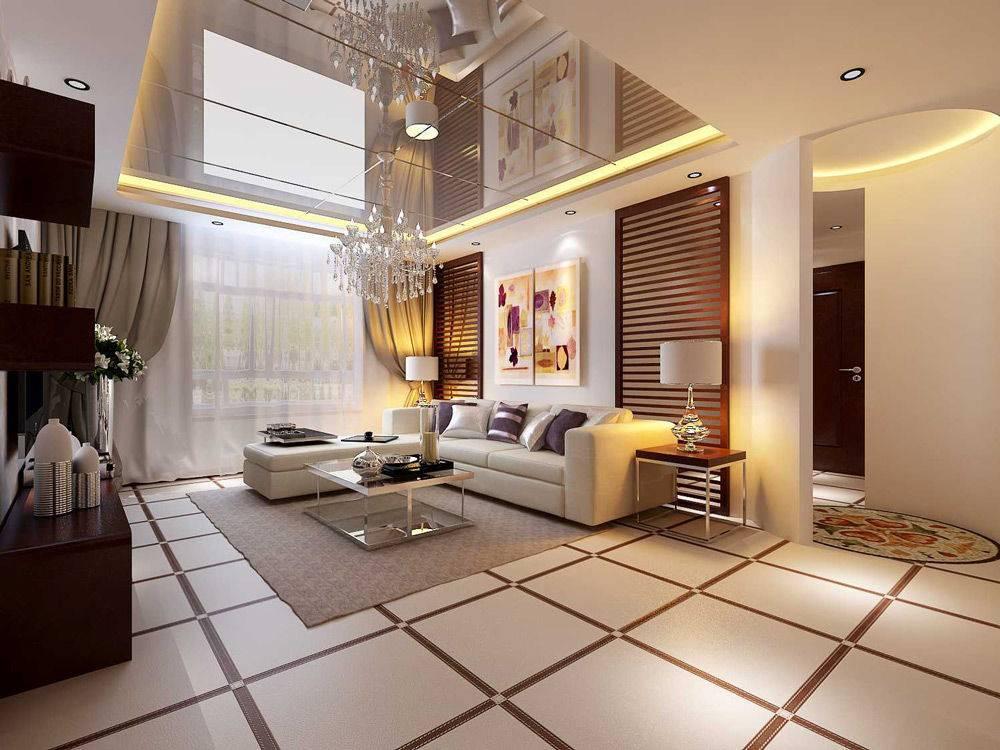 Зеркальные потолки: преимущества и недостатки конструкций