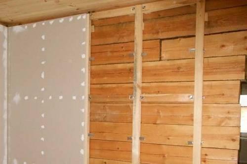 Обрешетка под гипсокартон: стены, варианты изготовления, материалы