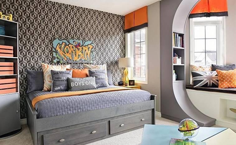 Интерьеры комнат для подростков
