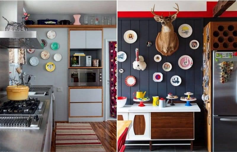 Декор кухни: 90 фото лучших вариантов красивого дизайна и примеры их реализации