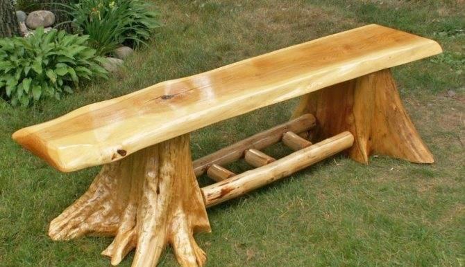 Как сделать прочную скамейку из профильной трубы