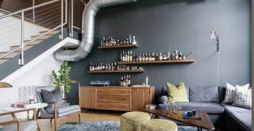 Дизайн холостяцкой квартиры - 100 фото идей как оформить квартиру холостяка