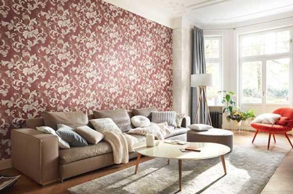 Розовые обои в интерьере: виды, идеи дизайна, оттенки, сочетание с другими цветами