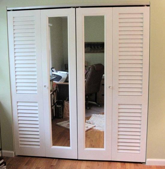 Раздвижные двери для гардеробной: виды, материалы, нюансы монтажа