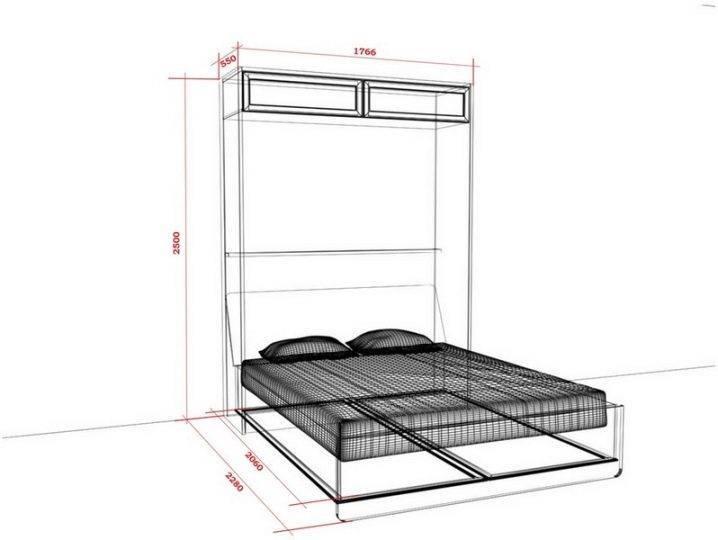 Современная тенденция икеа – шкаф-кровать трансформер