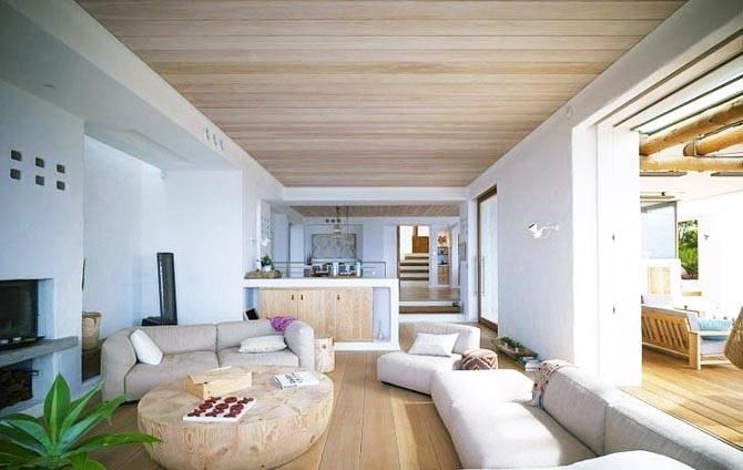 Ламинат в качестве материала для отделки потолка