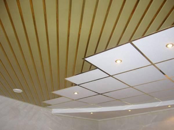 Как правильно установить реечный потолок в ванной?