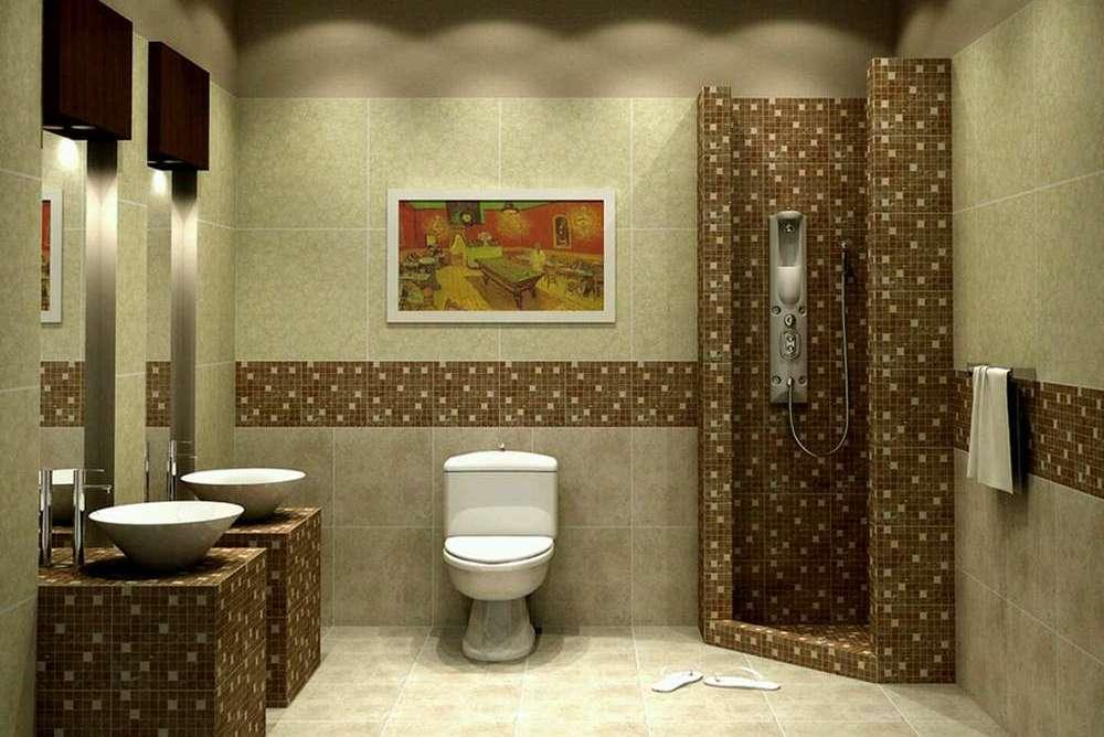 Как правильно уложить плитку в ванной комнате своими руками — пошаговое видео и фото