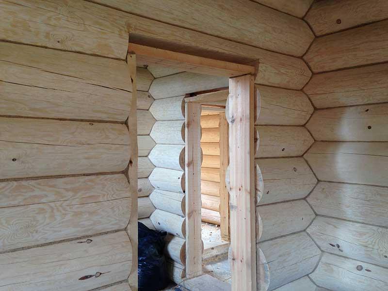 Установка пластиковых окон в деревянном доме: видео установки своими руками