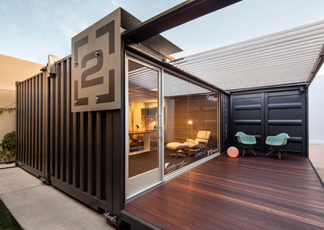 Дом из контейнеров: преимущества, основные этапы работ, фото с идеями оформления